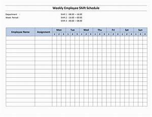 free monthly work schedule template weekly employee 8 With work calendars templates