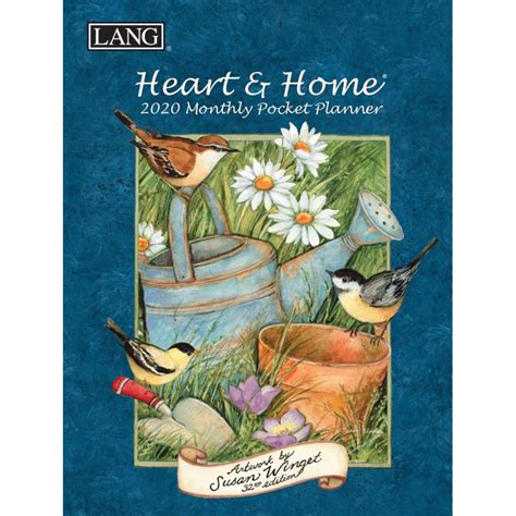heart home monthly pocket planner