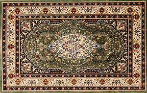 """""""Arabic rug with floral pattern"""" Stock Photo Colourbox"""