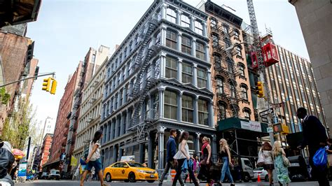 Soho Chic Stores And Cobblestones  The New York Times