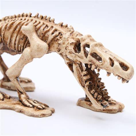 MRZOOT Resin Dinosaur Skeleton Model Aquarium Decorative ...