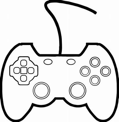 Coloring Pages Xbox Games Controller Drawing Printable