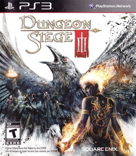 dungeon siege 3 ps3 dungeon siege iii 2011 playstation 3 box cover