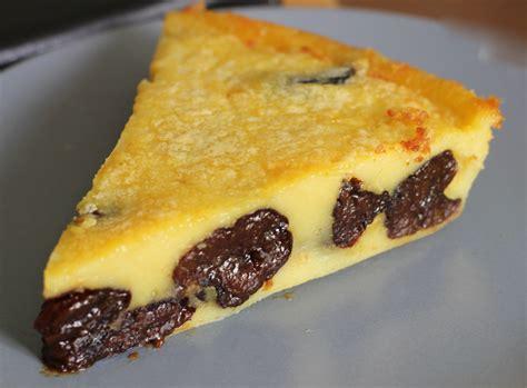 recettes cuisine rapide far breton au beurre salé aux pruneaux o fourneaux
