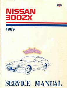 1989 Nissan 300zx Gll Wiring Diagram Service Repair Shop Factory Oem 89