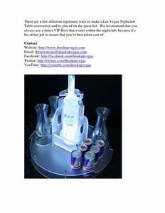 How To Reserve A Las Vegas Nightclub VIP Bottle Service