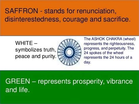 indian flag colors meaning does the tricolour indian flag represent hinduism