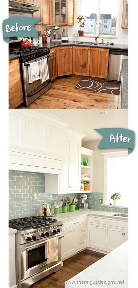 kitchen tile makeover pretty before and after kitchen makeovers noted list 3264