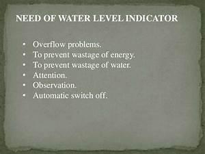 Water Level Indicator By Bhushan Kumbhalkar