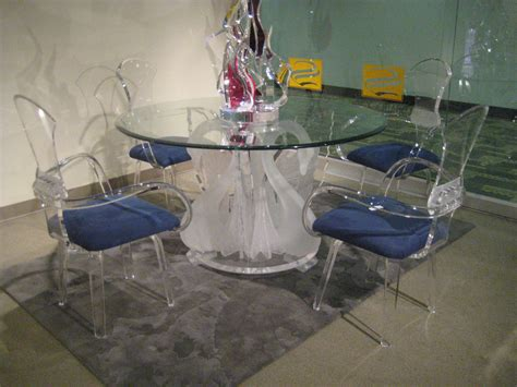 glass ls for sale acrylic legend swan round dining table ls 9500 usa