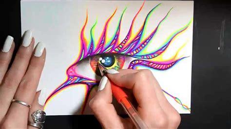 gel  art eye youtube