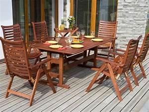 Grande Table De Jardin : table de jardin en bois le choix respectueux ~ Teatrodelosmanantiales.com Idées de Décoration