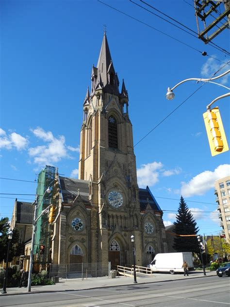 Toronto s architectural gems spire of St Mary s at