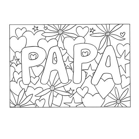 Gefeliciteerd Papa Kleurplaat by Verjaardag Vader Kleurplaat Malvorlagen Feste Feiern Zum
