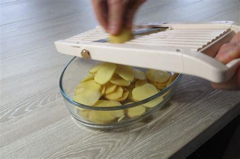 coupe cuisine coupe à la mandoline je cuisine