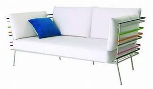 Canapé Cuir Blanc 2 Places : canape cuir ou tissu choisir celui qui nous ressemble ~ Teatrodelosmanantiales.com Idées de Décoration