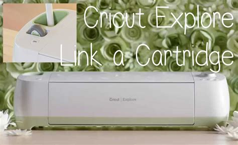 Cricut Explore How To Link A Cartridge  Lolli Lulu Crafts