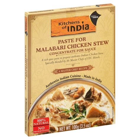 Kitchens Of India Paste Uk kitchens of india paste for malabari chicken stew 3 5 oz