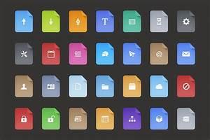 Free Flat Filetype Icons  U2014 Medialoot