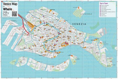 venice city map    printable version