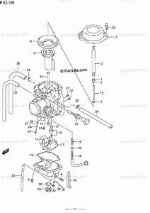 Suzuki Motorcycle 1991 Oem Parts Diagram For Carburetor