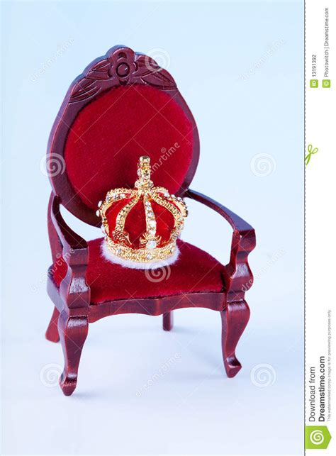 crown royal king chair crown and throne stock photo image of king story golden
