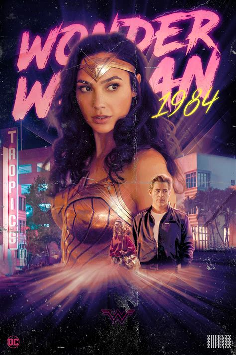 In a new motion poster for wonder woman 1984, diana rocks her golden eagle armor against a swirling, psychedelic background. Wonder Woman 1984 (2020) -Movie Poster - Movies Photo ...