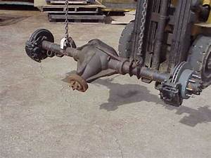 Gmc 14 Bolt Rear Axle 8 Lug 3 73 Ratio Open Differential