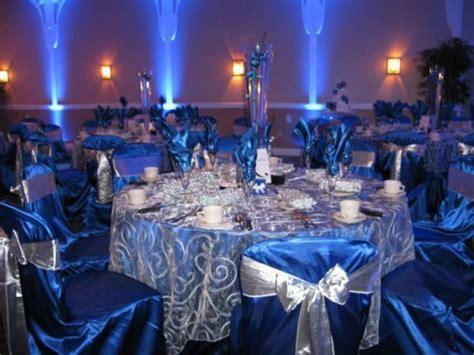 37 Fabulous Royal Blue Wedding Decorations Ideas Silver