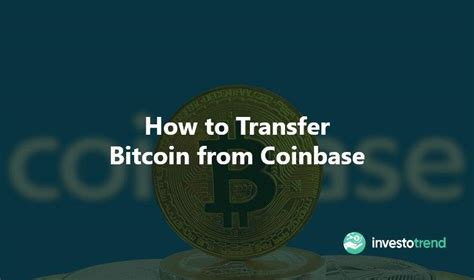 To safegaurd against sending funds to an incorrect address, we suggest asking the receiver for their unique qr code. How to Transfer Bitcoin from Coinbase - InvestoTrend