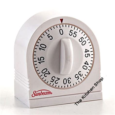 Kitchen Timer by Timer 60 Minute Extended Ring Kitchen Timer By Sunbeam