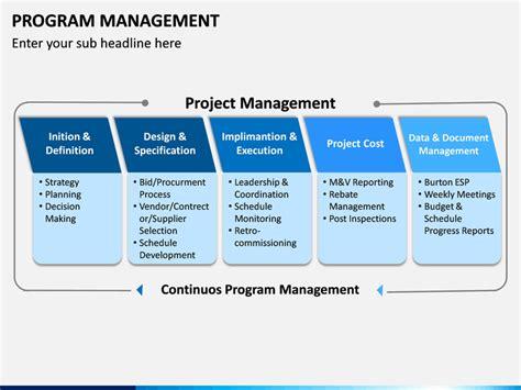 Program Management PowerPoint Template | SketchBubble