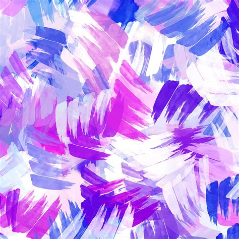 purple abstract paint pattern mixed media by rollo
