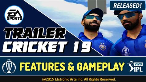 Ea sports cricket 2019 is based on cricket 07 computer game that was previously developed by hb studios and published by electronic arts. EA Sports Cricket 2019 Trailer+Gameplay   Planet Cricket ...