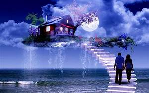 Romantic Good Night HD wallpapers