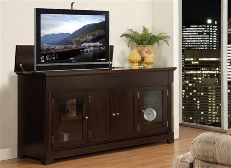 Hudson Valley Motorized Plasma TV Lift Cabinet   Handstone