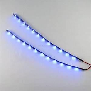 Led Stripes : new super bright 2x 12 leds 30cm 5050 smd led strip light flexible 12v car decor ebay ~ Watch28wear.com Haus und Dekorationen