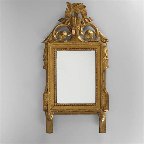 miroir de chambre en bois sculpt 233 et dor 233 233 poque louis xvi 2015071699 expertissim