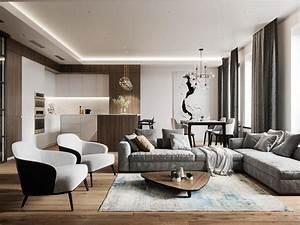 Visite D U2019un Appartement Au Style Glamour Moderne Sophistiqu U00e9