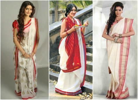 bengali saree draping 6 innovative saree draping styles makeupandbeauty