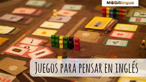 Todos los juegos de juegos de vestir y moda. Juegos De Ingles Secundaria - Juegos de mesa que te ayudarán a pensar en inglés : ¡contesta ...