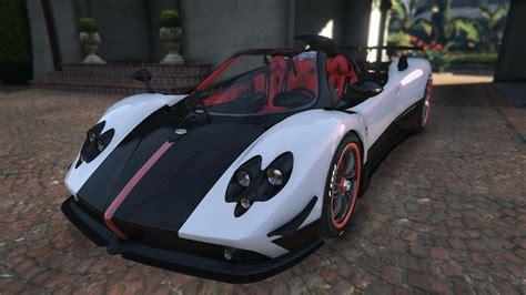 Pagani Zonda Cinque Roadster Gta5 Mods Com