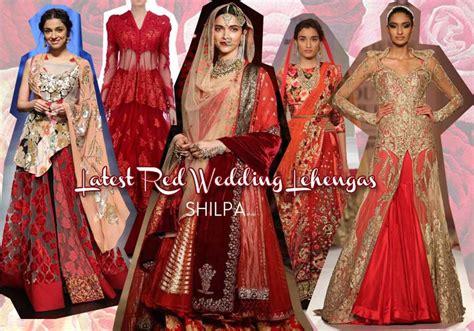 Red Bridal Lehenga Designs You'll Love This Season