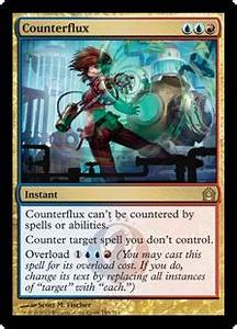 Magic The Gathering Why Can39t An Overloaded Counterflux