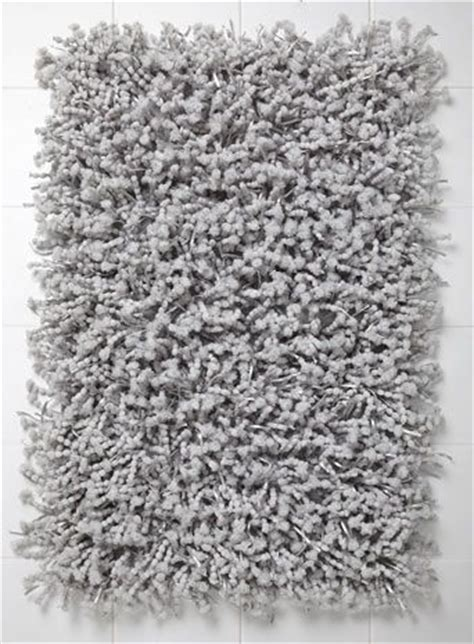 Grey Pom Pom Bath Mat Bathroom Pinterest Grey, Bath mats and Pom poms