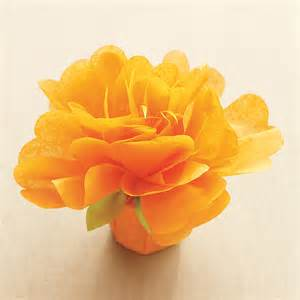 Martha Stewart Tissue Paper Flower Template