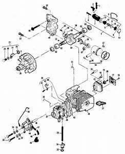 Mcculloch Mini Mac 160s Powerhead Assembly Parts