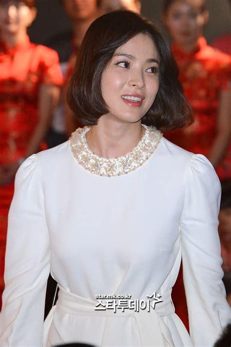 song hye kyo cuts  hair  beauty remains  hancinema