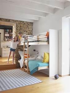 Chambre Gain De Place : optimiser une petite chambre nos astuces gain de place c t maison ~ Farleysfitness.com Idées de Décoration