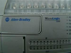 Allen Bradley 24 Volt Micrologix Controller 1200 1762